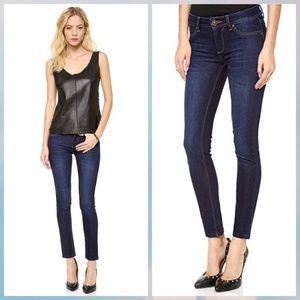 DL1961 Emma slim skinny dark blue mid rise jean